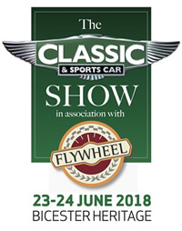 Classic and Sports Car Show in association with Flywheel at Bicester Heritage 23-24 June 2018