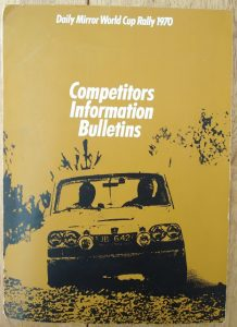 Competitors Information Bulletin