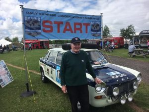 Paddy Hopkirk at MG_Live 2018